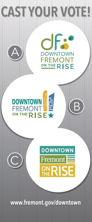 Downtown fremont on the rise bannerstand