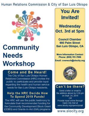 Community needs workshop 2018 flyer 90275ba9 6694 4034 8874 721f82eaca2a