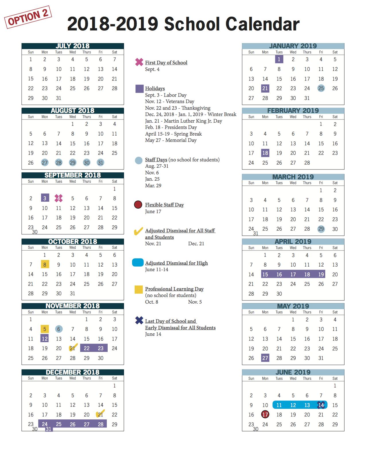 Virginia Beach Public Schools Calendar 2019 VBCPS E Town Hall   2018 2019 and 2019 2020 School Calendar Review