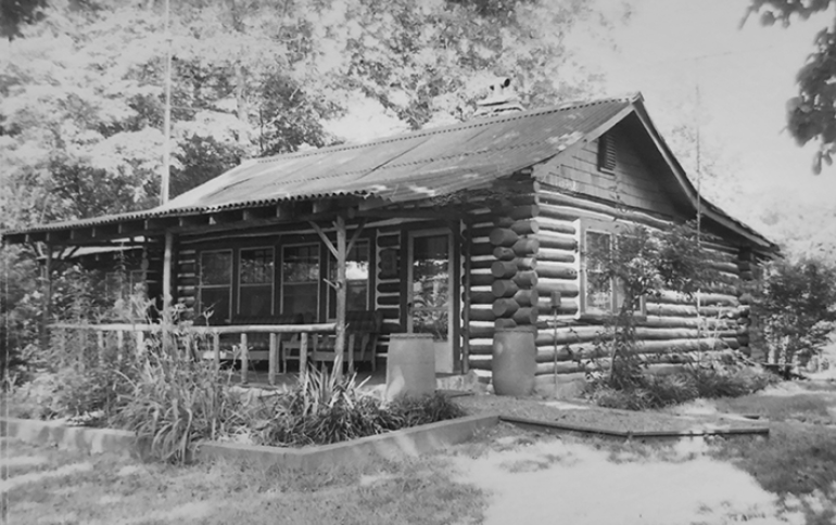 Picture of the Thomas Wolfe cabin