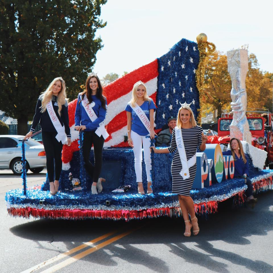 2016 Provo parade float