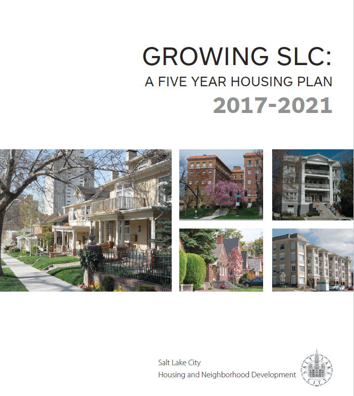 Open City Hall Growing Slc A Five Year Housing Plan Issue