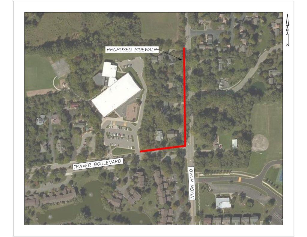 nixon Rd/Traver Blvd Map