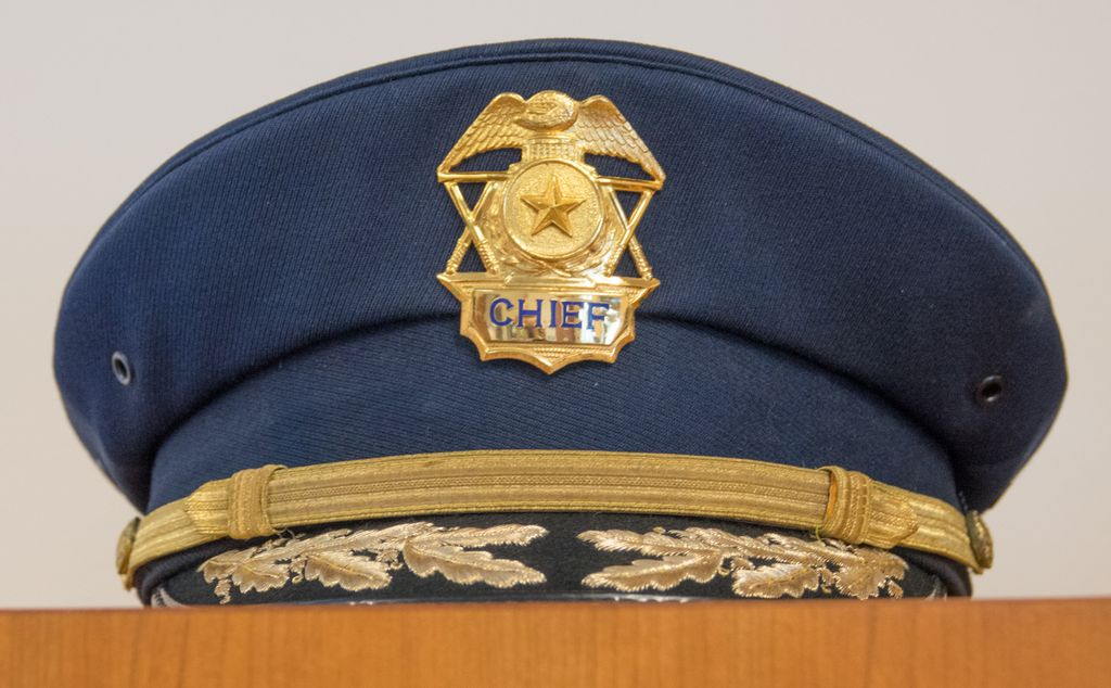 Police chief's hat