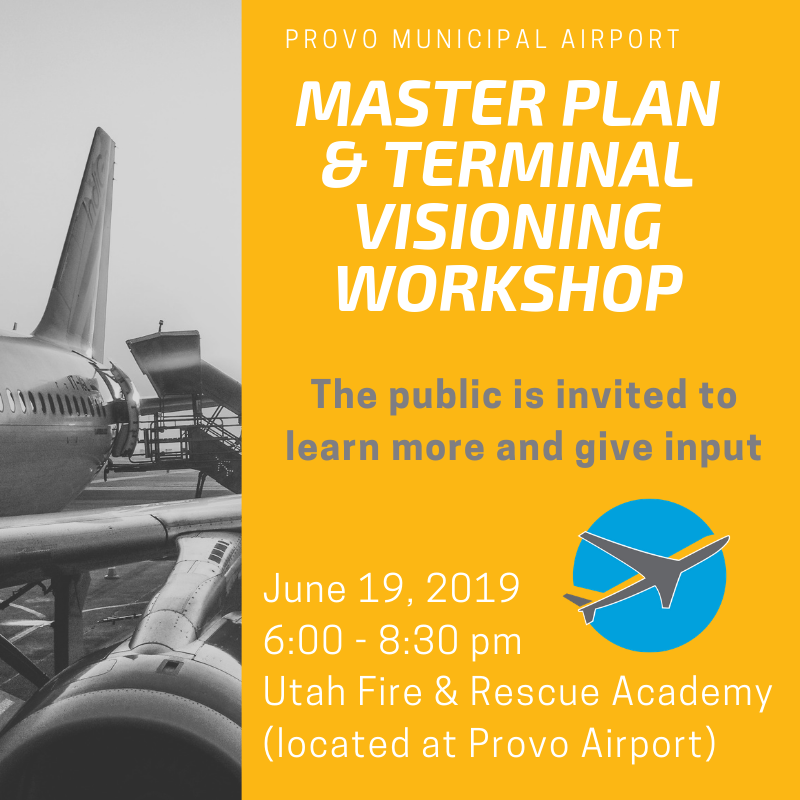 Airport Open House invitation