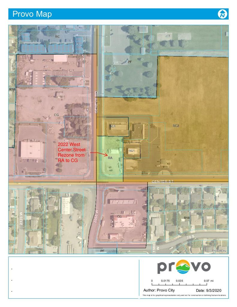 current zoning map for property