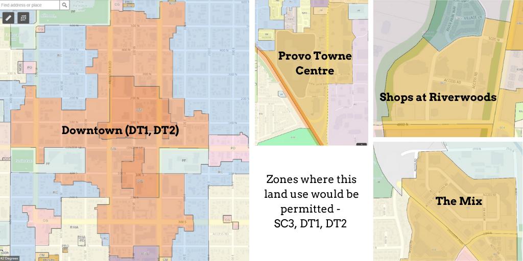 maps of zones